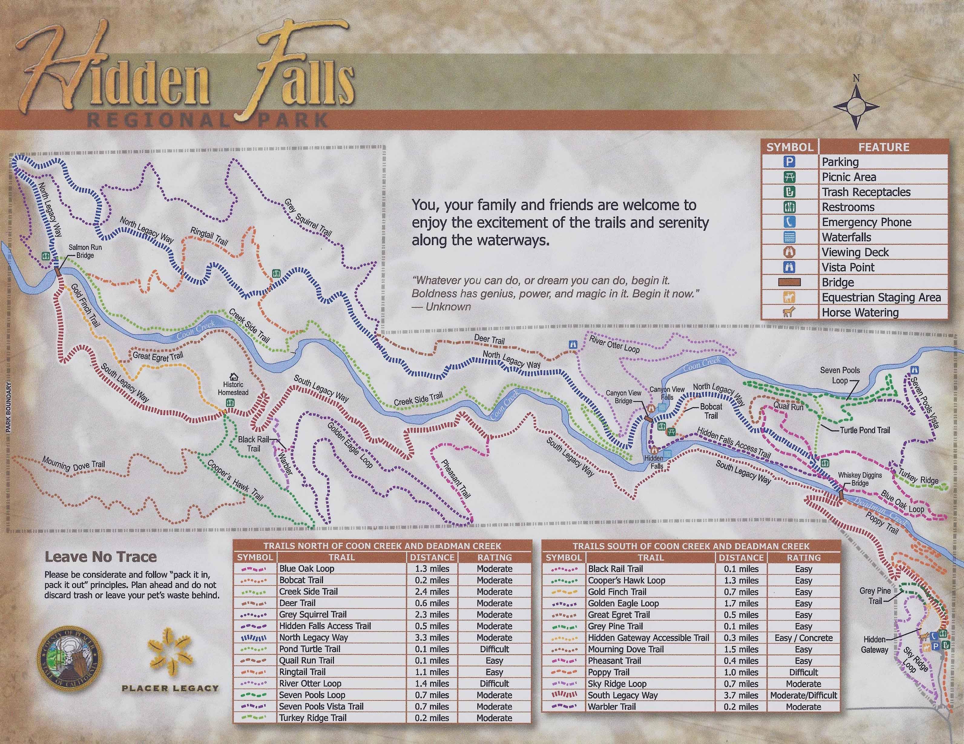 Hidden Falls Regional Park | Get Off Your G on hidden falls hike auburn ca, hidden falls park auburn california, hidden falls adventure park trail map,