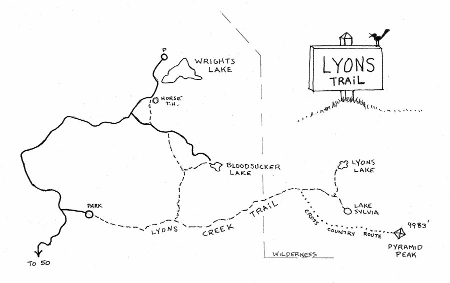 Lyons Map | Get Off Your G on